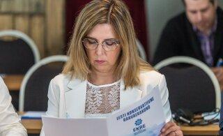 Министр Керт Кинго подала заявление об отставке