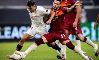 Sevilla alistas Roma, Šotimaa uhkus langes konkurentsist