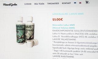 Поклонники лечения MMS подают в суд из-за интернет-комментариев. Часть из них была написана с IP-адресов эстонских университетов