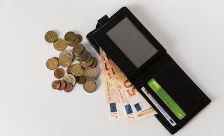 В 2020 году средняя брутто-зарплата в Эстонии выросла до 1448 евро в месяц
