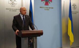 FOTOD | Kaitseminister Jüri Luik on ametlikul visiidil Ukrainas