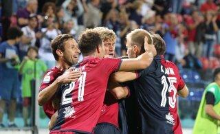 """Клаван и """"Кальяри"""" проиграли последний матч чемпионата Италии"""