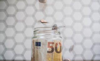 Pension kasvas aastaga kümnendiku võrra