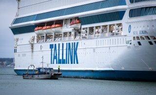 Число пассажиров Tallink снизилось на 85%