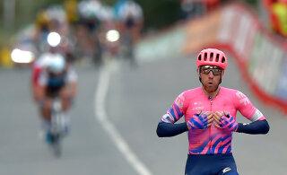 Vuelta: Räime ja Laasi tiimikaaslased püsivad kõrges mängus, eestlased ise liiguvad viimaste seas