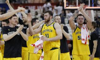 BLOGI   Tšehhi vastu paremuse maksma pannud Austraalia jõudis esmakordselt korvpalli MM-i poolfinaali