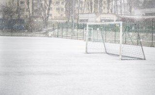 ФОТО | Метель в апреле — в Эстонии и такое бывает. Выходные продолжатся в том же духе