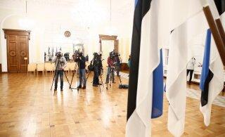Восстановить имидж Эстонии, построить восточную границу. Коалиционные переговоры продолжаются