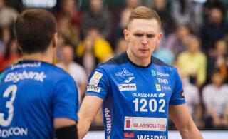 Endine Eesti võrkpallikoondislane liitus esiliigameeskonnaga