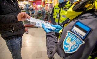 Напоминаем! В субботу в Эстонии вступают в силу новые ограничения