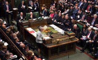 Suurbritannia parlament hääletas Brexiti-protsessi oma kontrolli alla võtmise poolt
