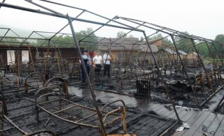 В Хабаровском крае из-за пожара в палаточном лагере погибли четверо детей. Полиция проводит задержания