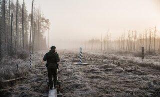 SUUR FOTOLUGU | Päev piirivalvurina