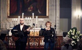 ФОТО | В церкви Олевисте прошел концерт для бездомных и малоимущих