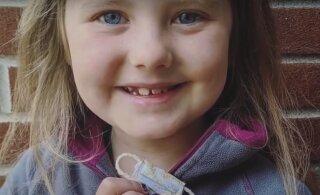 ФОТО И ВИДЕО | 7-летняя девочка попросила маму сшить защитную маску для Зубной феи