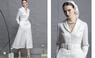 ФОТО | Женственные платья и идеальные сочетания: награжденная президентом дизайнер Лилли Яхило представила коллекцию весна-лето