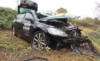 В Германии в аварии погибли двое мужчин: один из Эстонии, другой — из Украины