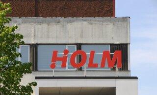 ФОТО: Новый эстонский банк Holm уже установил вывеску на конторе
