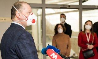 Карантин в Литве продлили на две недели, ношение масок стало обязательным