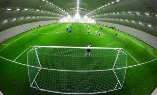 Хорошая новость! В четырех городах Эстонии возведут футбольные манежи