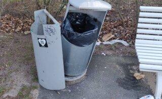 ФОТО: Вандалы разгромили парк Штромки