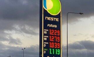 Kütusefirmad tõstsid korraga diislikütuse hinda