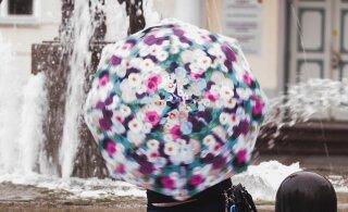 Pakkige õpikud ja vihmavarjud! Uus nädal tuleb vihmane, kuid soe