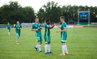 Levadia sai Euroopa liigas soodsa loosi, Paide teeb eurodebüüdi Leedus