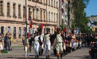 ФОТО: Смотрите, как в Даугавпилсе прошла реконструкция битвы с Наполеоном