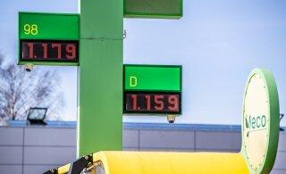 ФОТО   Продавцы моторного топлива снизили цены на бензин
