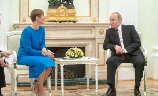 Керсти Кальюлайд пригласила Владимира Путина в Эстонию. Это хорошо? Опрос RusDelfi