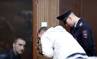 ВИДЕО | Российского актера приговорили к 3,5 годам колонии за участие в протестах