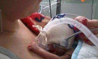 Teadmine, et sa oled sünnitanud, aga ei saa oma beebiga tutvuda, teda sülle võtta ja kallistada on lihtsalt kohutav