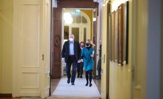 ФОТО | Реформисты и центристы снова собрались на коалиционные переговоры. Что обсуждают сегодня?