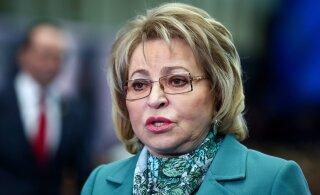 Матвиенко назвала юридически ничтожными санкции Запада в связи с присоединением Крыма
