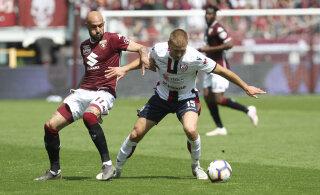 Klavan ja Cagliari ei saanud kolmanda liiga klubist jagu