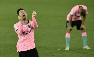 Eden Hazard lõpetas enam kui aastase väravapõua, Barcelona komistas taas
