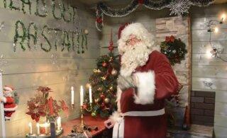 ВИДЕО: Дед Мороз ждет всех в гости в парке Лёвенру!