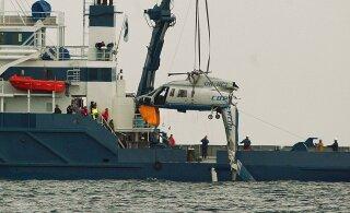 Коби Брайант разбился на том же типе вертолета, что в 2005 году упал в Таллиннский залив