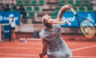 TÄISPIKKUSES | Eesti tennise meistrivõistlustel selgusid üksikmängu finalistid ja naiste paarismängu meister