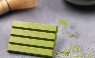 FOTO | Eestis tuleb müügile Jaapanis ülipopulaarne roheline KitKati šokolaad