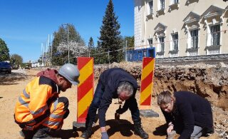 Во время ремонтных работ в Силламяэ обнаружены человеческие останки