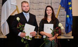 Üliõpilaste teadustööde konkursi parimad on Rebekka Lotman ja Marek Mooste