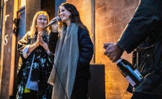 FOTOD   Noblessneri linnakus avati värvika performance'iga Kai kunstikeskus