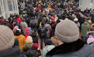 Не только за Навального. Корреспондент RusDelfi побывал на самой массовой несанкционированной акции протеста с 2013 года