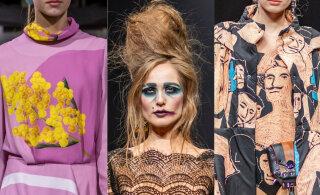 Delfi на Таллиннской неделе моды 2019: Весенняя романтика, готика и труп Эми Уайнхаус