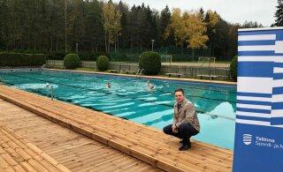 В Нымме снова можно плавать под открытым небом