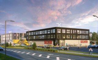 В Табасалу строится торговый центр, где расположится магазин Selver