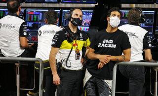 Ricciardot häiris Grosjeani avarii puhul korduste näitamine: see oli täiesti lugupidamatu!