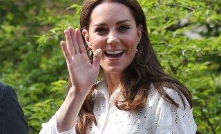 FOTOD ja OSTUSOOVITUSED: Cambridge'i hertsoginna trendikad püksid on tõelised suvekuulutajad